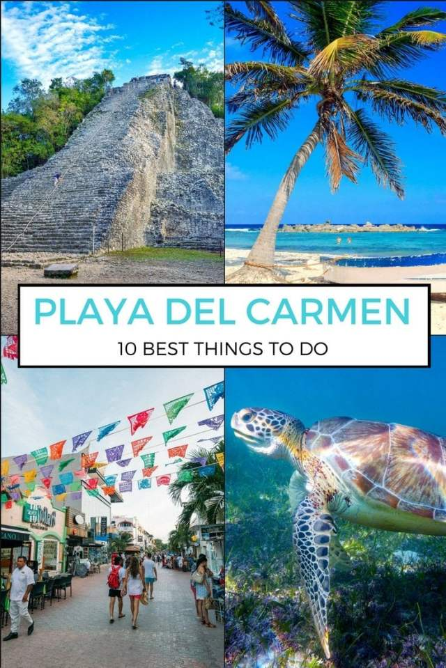 Best Things to Do In Playa Del Carmen. More at ExpertVagabond.com