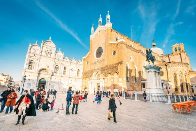 Venice Italy Basilica