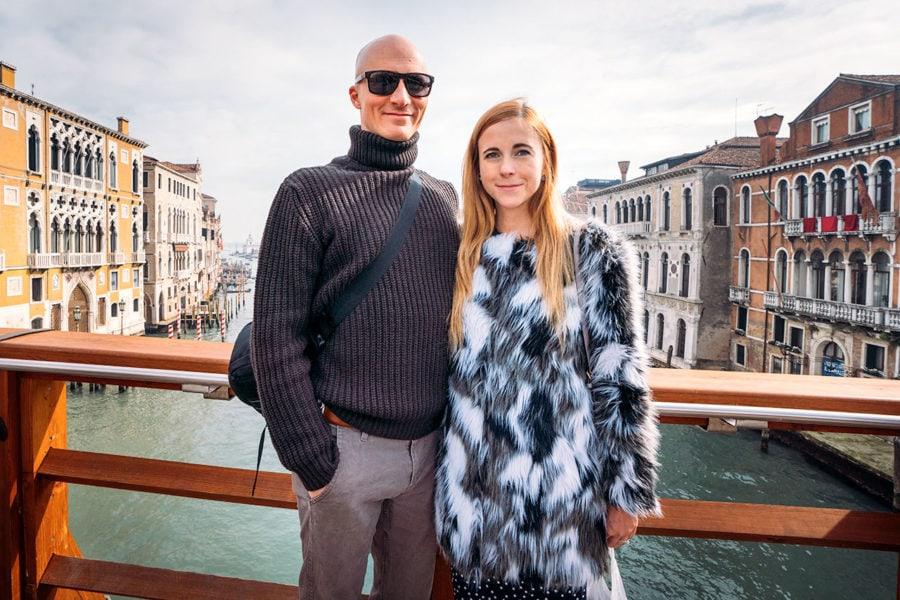 Matt and Anna in Venice