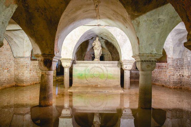 San Zaccaria Crypt