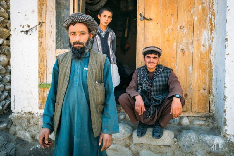 Local Muslim men