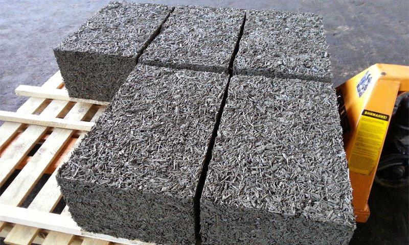 Легкий арболит - материал
