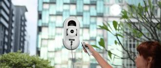 Роботы-пылесосы для мытья окон