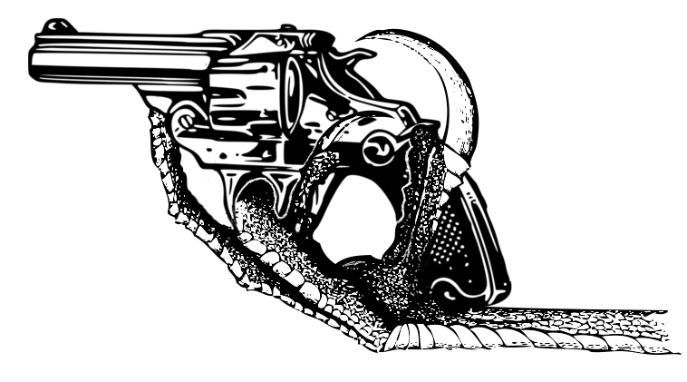"""Bird claw illustration from """"Key to North American birds"""" by Coues, Elliott (1890). Revolver illustrator not found."""