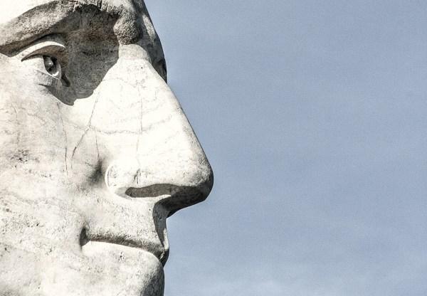 George. Mount Rushmore National Memorial, SD. October 2015.