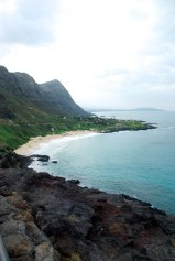 The eastern coast of Oahu. The drive along this side of the island is breathtaking.