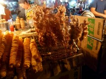 Xian Muslim Quarter night market finds