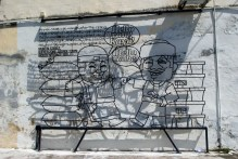 George Town, Penang had these wireframe art pieces scattered throughout the city