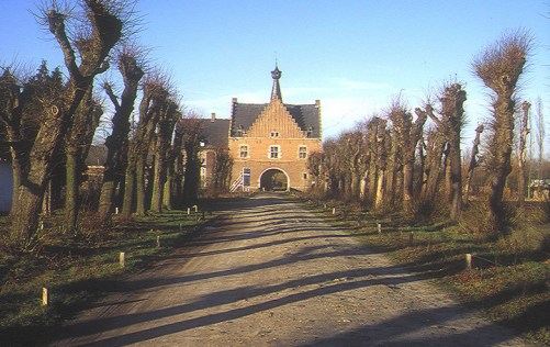 The Gatehouse to the core of the Herkenrode site.