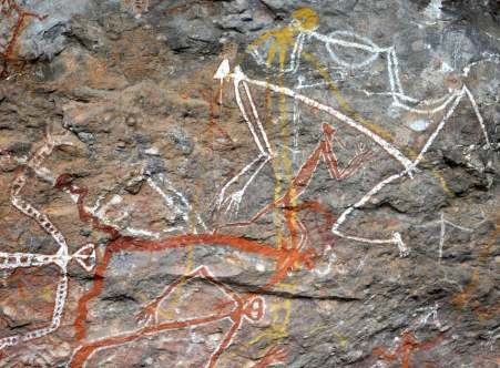 Nourlangie Aboriginal Rock Art, Kakadu National Park, Australia (Photo: Jan Haenraets, 2012).