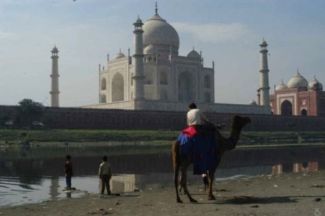 Taj Mahal, Agra, India (Photo: Jan Haenraets, 2005).