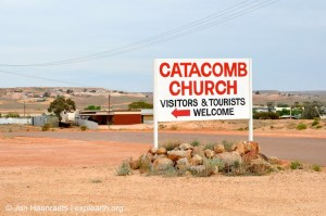 Undergound living in Coober Pedy (Photo: Jan Haenraets, 2012).