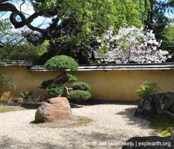 The Zen Garden at Hakone Gardens, Saratoga (Photo: Jan Haenraets, 2013)