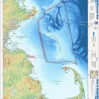 The Stellwagen Bank National Marine Sanctuary Map (Source: NOAA National Marine Sanctuaries)