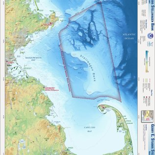 The Stellwagen Bank National Marine Sanctuary Map (Source: NOAA National Marine Sanctuaries)