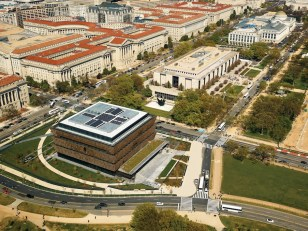 Arial photo: Alan Karchmer/NMAAHC