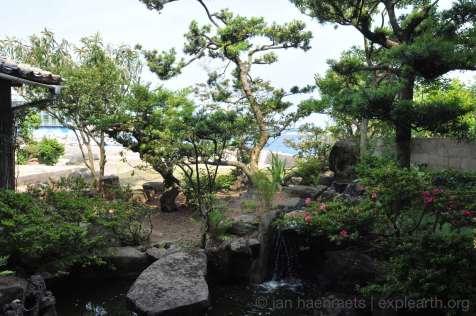 Garden at the old geisha house (Photo: Jan Haenraets)