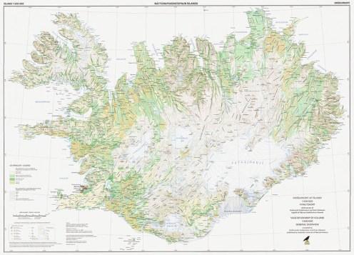 [Credit: Icelandic Institute of Natural History, Vegetation Map of Iceland, 1998, Guðmundur Guðjónsson and Einar Gíslas]