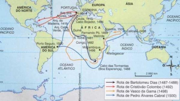 Formação do território colonial e expansão da colonização portuguesa - Gabarito da Ficha de Treino (1)