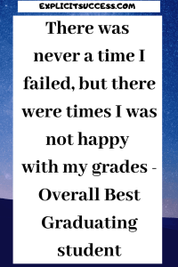 Best Graduating Student - Michael Okpara