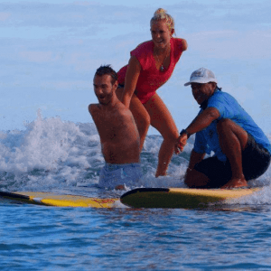 Nick Vujicic having fun