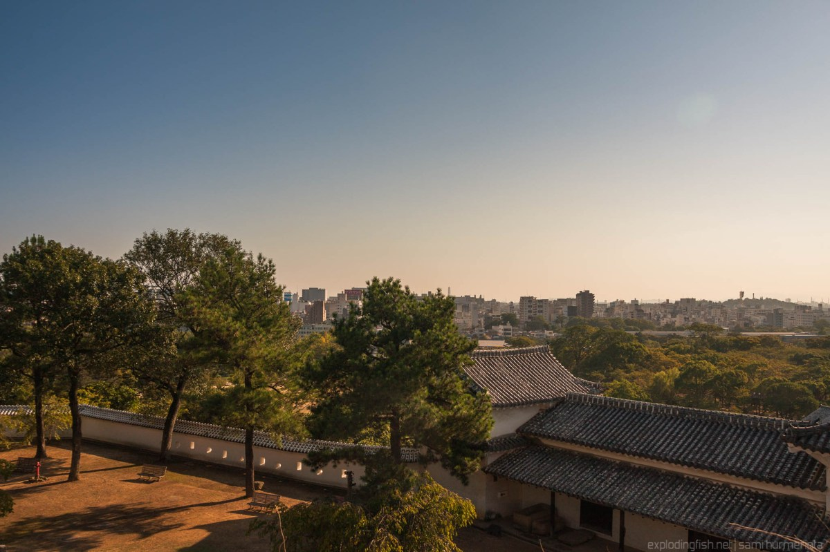 Sunset at Himeji - basic presets