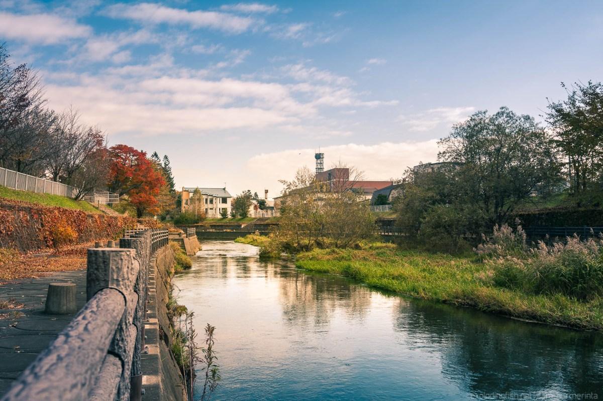 Autumn at Obihiro River