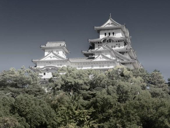 Himeji Castle in Himeji Japan
