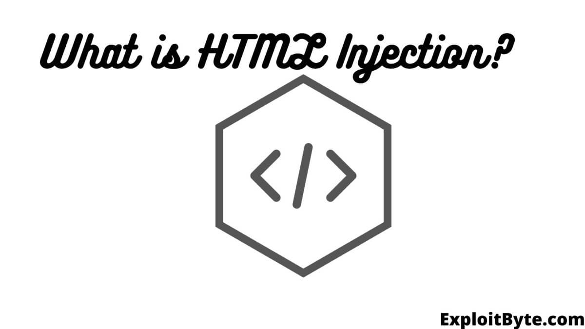 What is HTML Injection?