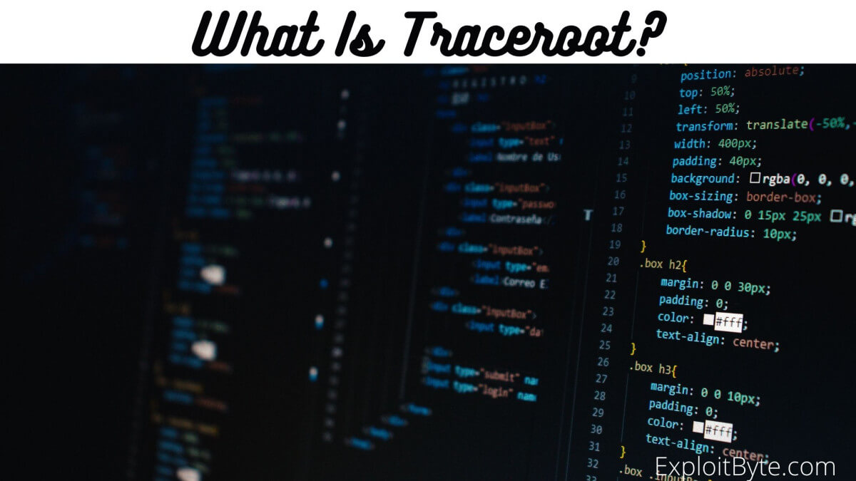 What is Traceroot?