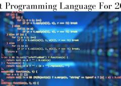 Top 5  Best Programming Language To Learn In 2021