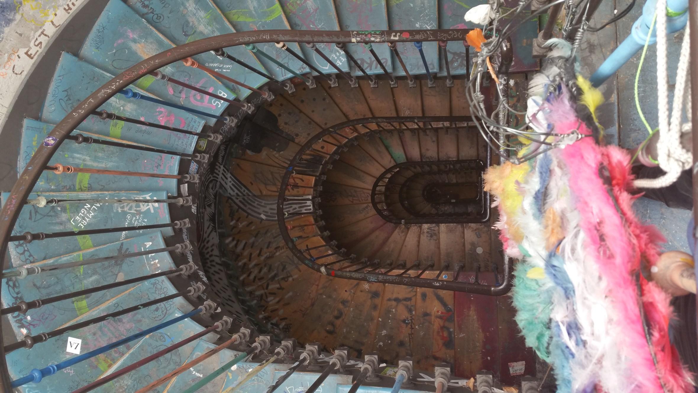 Stairs at 59 Rivoli
