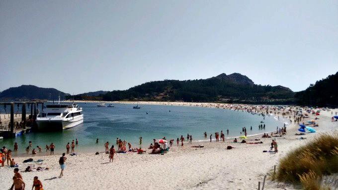 Praia ilhas Cies