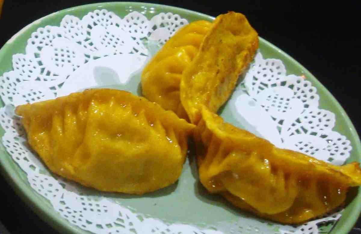 dumplings ou gyosas, China