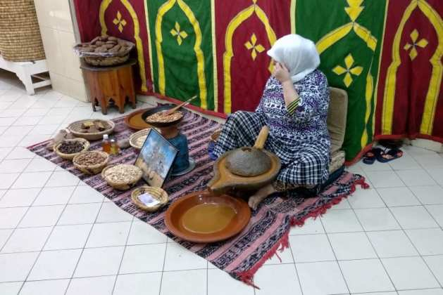 Ervanária Marrocos óleo argão