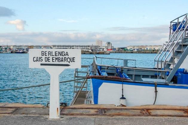 Cais de Embarque para a ilha da Berlenga, Peniche