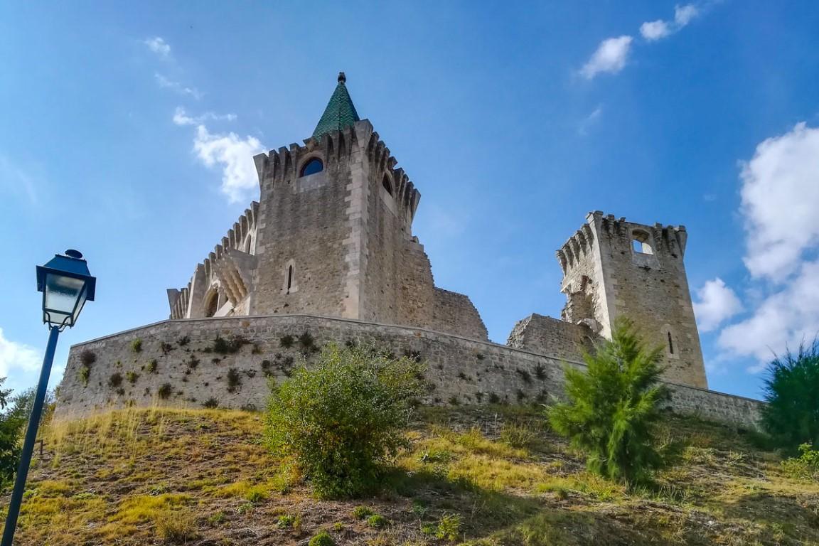Perspetiva do Castelo de Porto de Mós