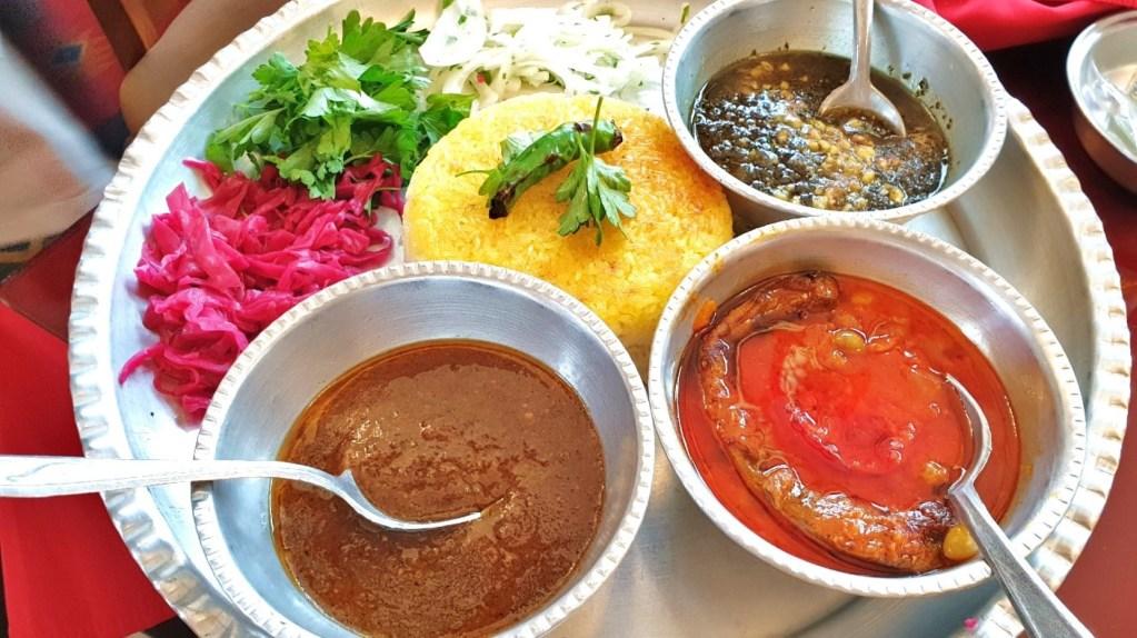 Comida no Irão, fotografia de João Leitão