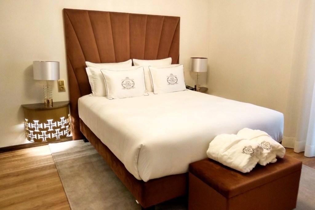 O nosso quarto no Hotel República Tomar