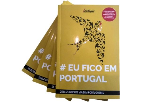 Livro #EuFicoEmPortugal - capa 2