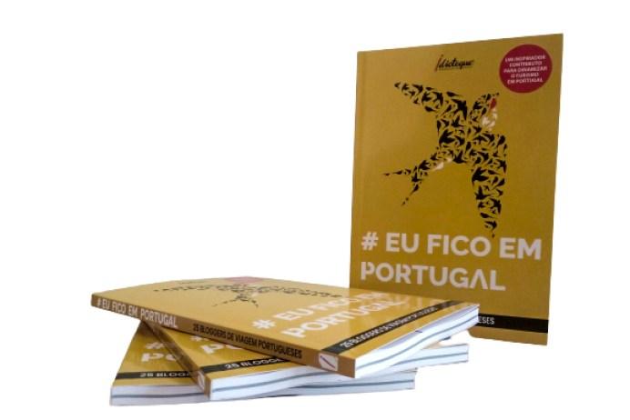 Livro #EuFicoEmPortugal - capa