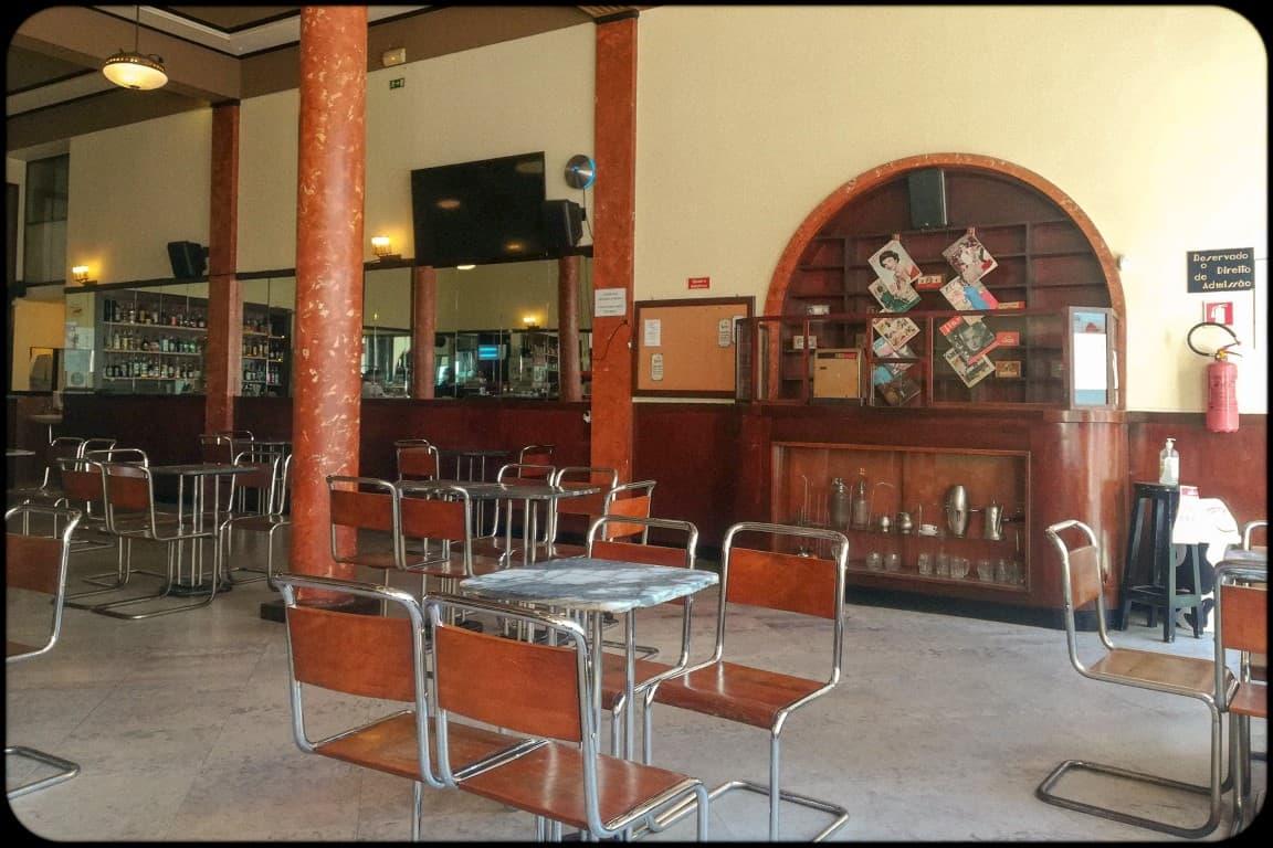 Café Paraíso - histórico café do centro de Tomar