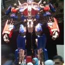 Optimus Prime dengan size sebenar Di Taman Tema Genting