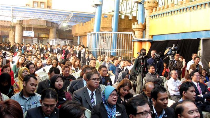 wartawan dan media yang hadir