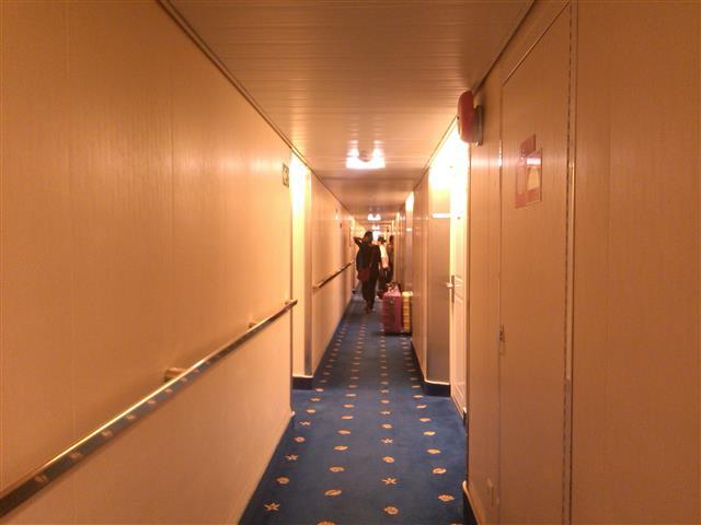 Bilik-bilik hotel dalam Star Cruise