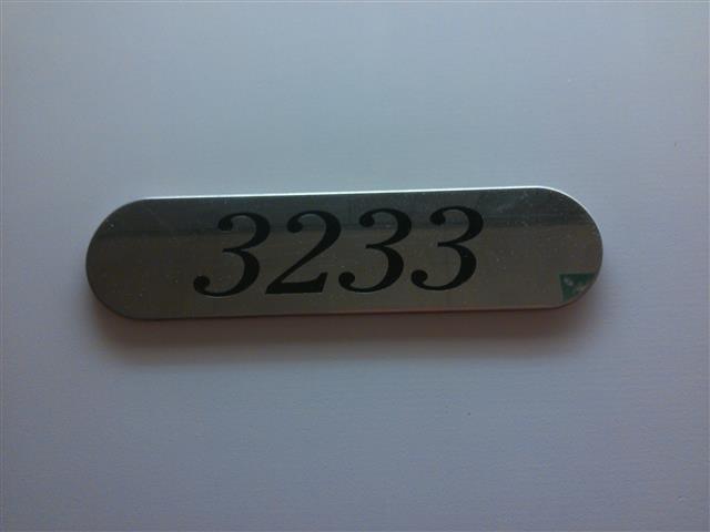 Inilah nombor bilik yang disediakan untuk aku