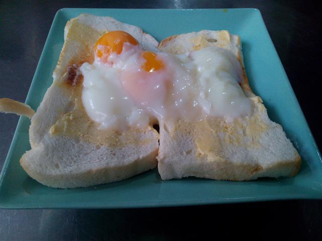 roti telur goyang