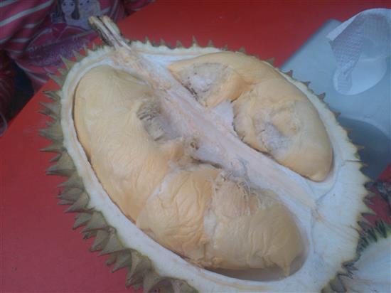 durian gred ini pun sedap!