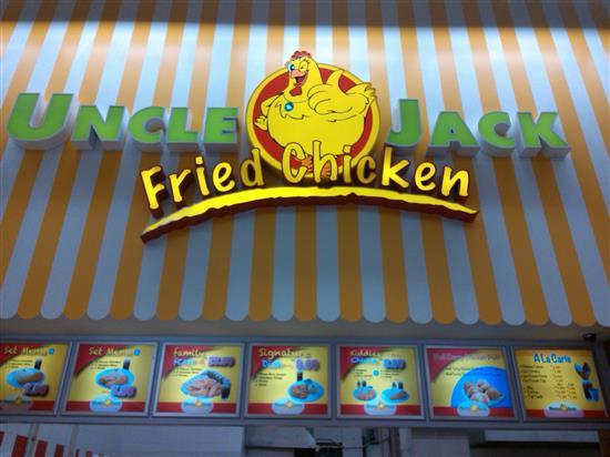 Restoran Uncle Jack Fried Chicken yang murah