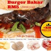 burger bakar murah